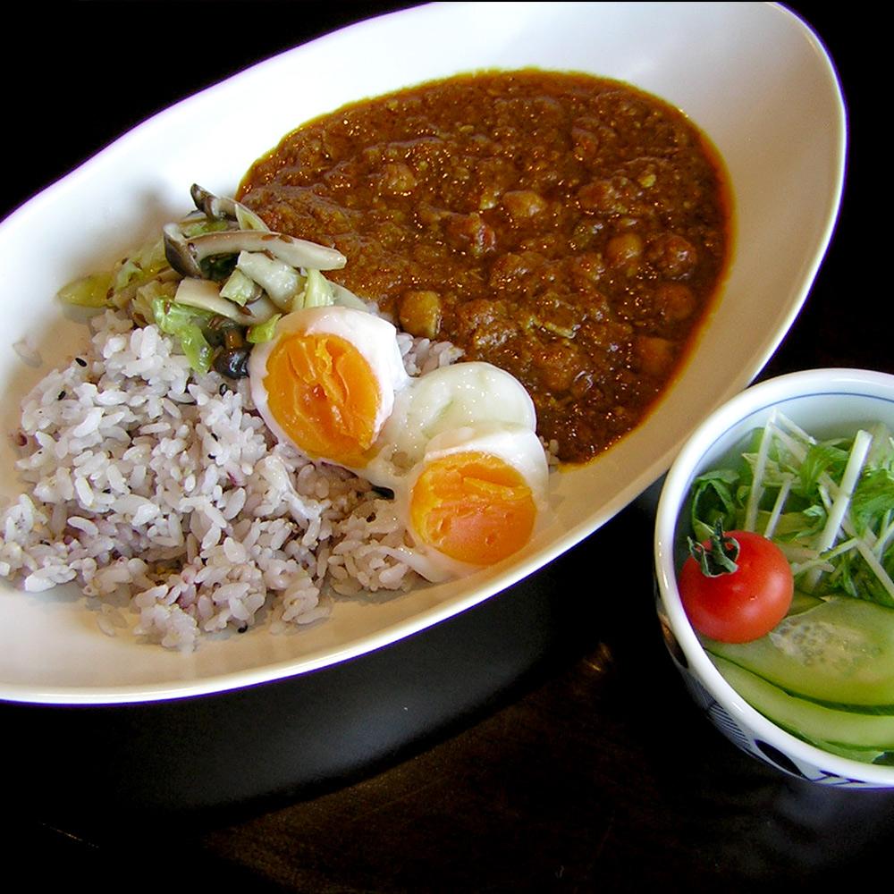 インゲン豆のカレー
